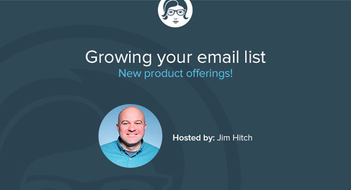 Growing Your Email List: A Sneak Peek Livecast