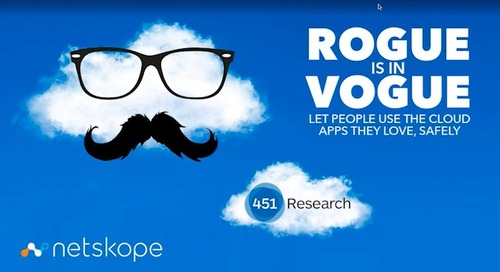 Rogue is in Vogue: Let People Use the Cloud Apps They Love, Safely