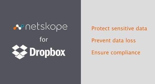 Netskope for Dropbox - Product Demo