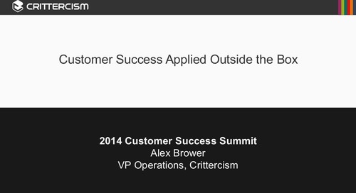 Customer Success Applied Outside the Box