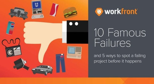 10 Famous Failures and 5 Ways to Spot Failures Before They Happen