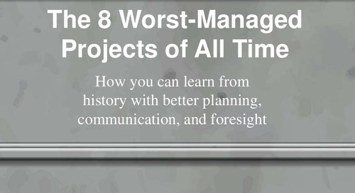 The 8 Worst Managed Projects of All Time