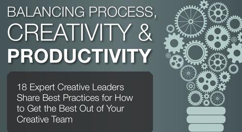 18 Experts on Balancing Process, Creativity, & Productivity