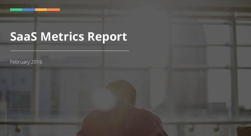 2016 SaaS Metrics Report