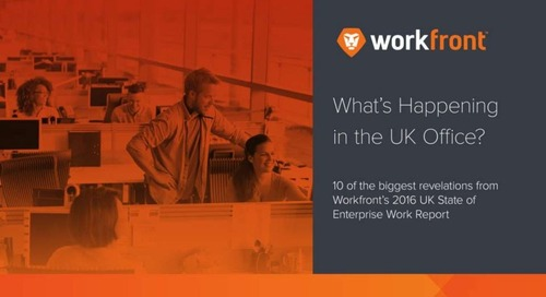 2016-17 UK State of Enterprise Work Report: 10 Surprising Stats