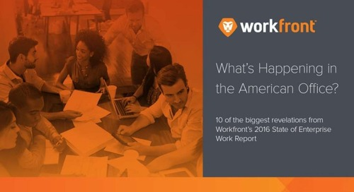 2016-17 U.S. State of Enterprise Work Report