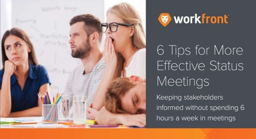 6 Tips for More Effective Status Meetings