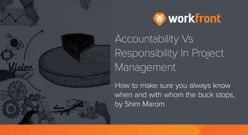 Accountability vs. Responsibility in Project Management