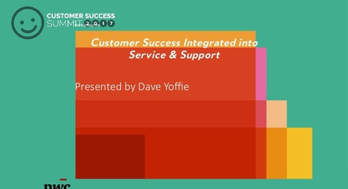 Better Customer Success Becoming a Foundation for Services