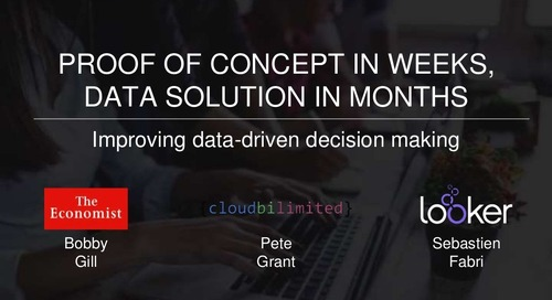 How the economist with cloud BI and Looker have improved data-driven decision making