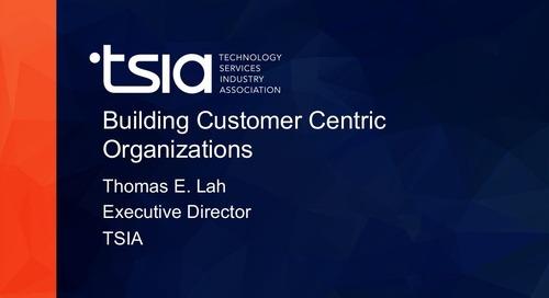Building Customer Success Organizations