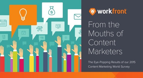 Content Marketing World 2015 Survey Results