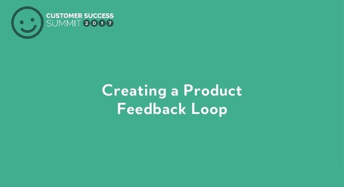 Creating a Product Communication Loop