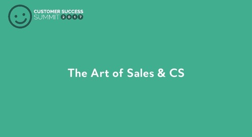 Creating Synergy Between Sales & Customer Success