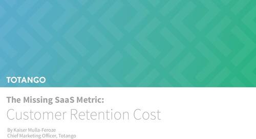 Customer Retention Cost Report