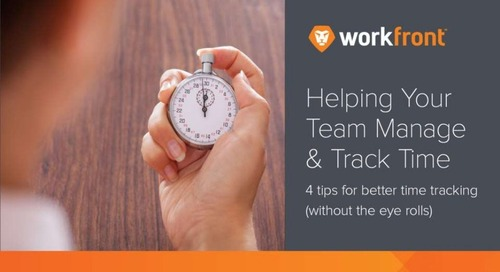 Helping Your Team Manage and Track Time
