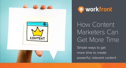 Content Planning Tips: How content marketers can get more time