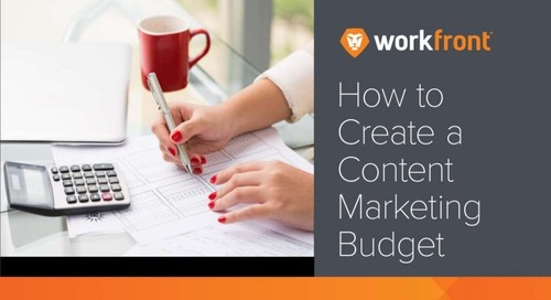 How to Create a Content Marketing Budget