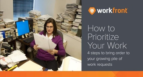 How to Prioritize Your Work