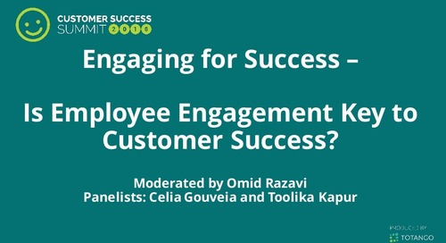 Is Employee Engagement Key to Customer Success