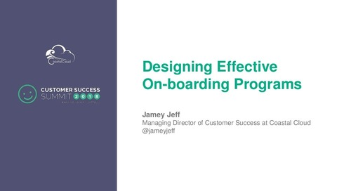 Designing Effective Onboarding Programs