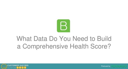 WHAT DATA DO YOU NEED TO BUILD A COMPREHENSIVE HEALTH SCORE?