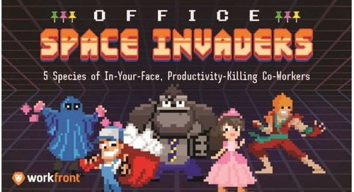 Office Space Invaders: 5 Species of In-Your-Face, Productivity-Killing Co-Workers