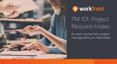 Project Management 101: Project Request Intake