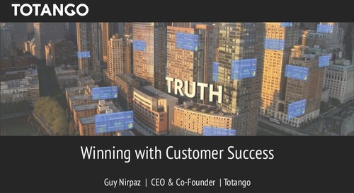 Winning with Customer Success