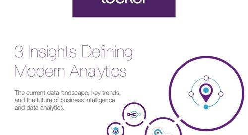 The 3 Insights Defining Modern Analytics
