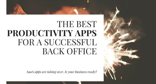 The Best Productivity Apps for a Successful Back Office