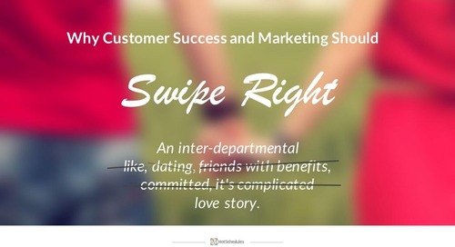 Why Customer Success and Marketing Should Swipe Right