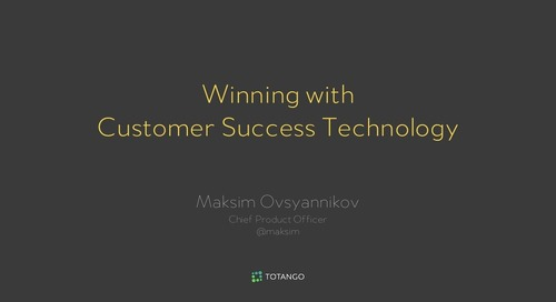 Winning With Customer Success Technology