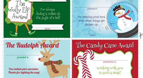 Holiday Certificates