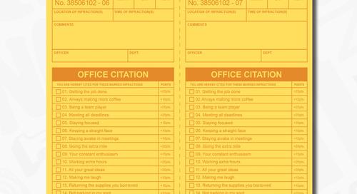 Recognition Office Citation