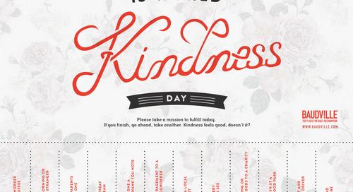 World Kindness Day Mission Tear-Offs