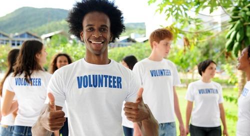 Four Ideas for Celebrating Volunteers during National Volunteer Week