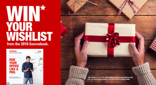 Staples Business Advantage: Win Your Wishlist Contest !