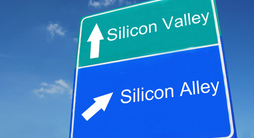 Silicon Alley and Silicon Valley Jostle for the Fintech Crown