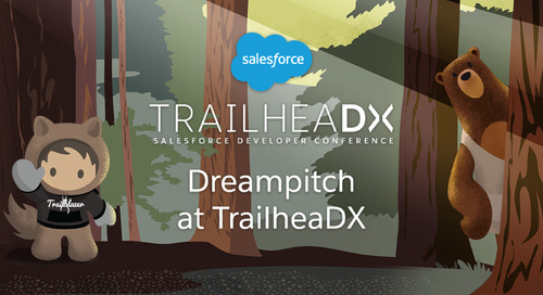 Ready to Pitch Your Startup in Front of Thousands at TrailheaDX?