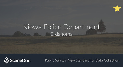 Kiowa Police Department Innovates with SceneDoc eCitations