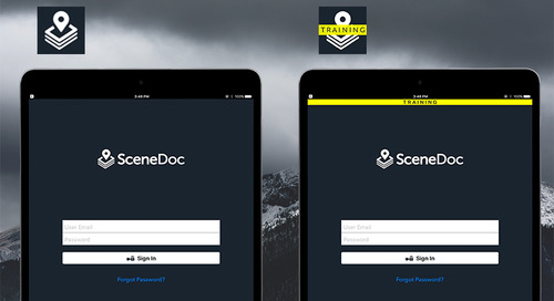 SceneDoc Training