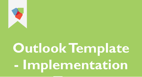 Outlook Template for Implementation Team