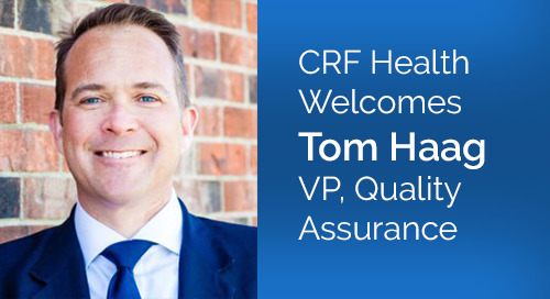 Data Integrity, Business and Process Efficiencies Take Center Stage as CRF Health Appoints New Vice President of Quality Assurance