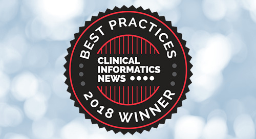 CRF Health's 'Outstanding Innovation' with Pioneering TrialConsent® Wins 2018 Clinical Informatics News Best Practices Awards