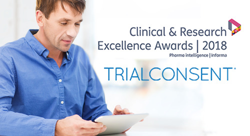 CRF Health Scoops 2018 TrialConsent® Hat Trick as CARE Award Finalist