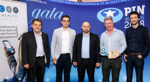 Recognition for CRF Health's World Class eSource Wins European Award