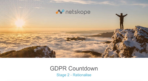 GDPR Countdown Rationalize Stage