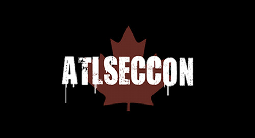 ATLSECCON, April 26-27, 2018 - Halifax, Canada