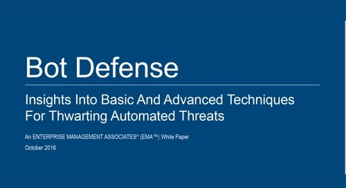 Bot Defense: Insights Into Basic and Advanced Techniques for Thwarting Automated Threats